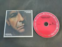 Various Positions CD From The Complete Leonard Cohen Studio CD Collection