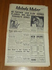 MELODY MAKER 1952 #988 AUG 23 JAZZ SWING KENNY BAKER BOB HOPE TED HEATH GIBBONS