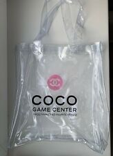 CHANEL BAG CLEAR PVC GAME CENTER MOSCOW VERY RARE 2018 VIP GIFT