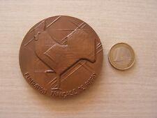 medaille federation francaise de rugby par barreault  1969   ref (g400)