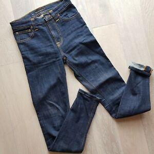 Nudie Jeans High Kai Organic cotton Navy size 26 women