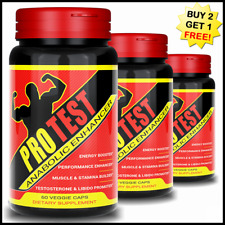 STRONGEST TESTOSTERONE BEST ANABOLIC BODYBUILDING MUSCLE BOOSTER CAPSULES PILLS