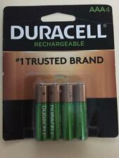 Duracell aaa Rechargeable batteries 4pack 850mAH