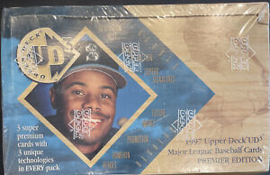 1997 Upper Deck UD3 FACTORY SEALED HOBBY Unopened Box, AUTOGRAPHS/VERLANDER++++