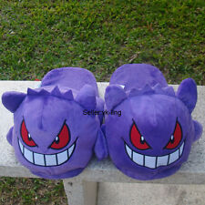 "Pokemon Go Gengar 11"" Plush Stuffed Slippers Shoes Cloth Lovely Doll Nintendo"