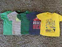 9 Months Baby Boy T-shirt LOT Carter's