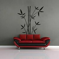 Beautiful Black Bamboo Trees Wall Sticker Mural Decals Vinyl Living Room Decors