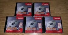 IMATION DVD-RW SEALED LOT OF 5 (5 PACKS) 25 TOTAL DVD MEDIA SEALED 4.7 GB SPACE