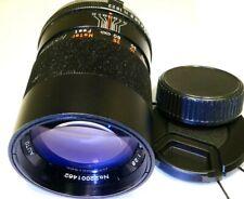 Vivitar 135mm f2.8 MC Lens telephoto Prime for Minolta SR SRT (slow aperture)