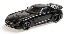 MINICHAMPS Mercedes AMG SLS Black Series BLACK MET. 1:18*Last Pcs Left!!