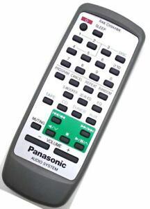 Genuine Panasonic RAK-CH944WK CD Stereo System Remote For SA-AK27 SC-AK27