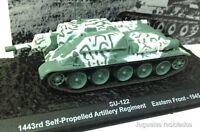 1/72 SU-122 SELF PROPELLED ARTILLERY REGIMENT 1945 WWII TANK TANQUE ALTAYA