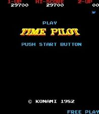 Time Pilot High Score Save Kit for your classic arcade game