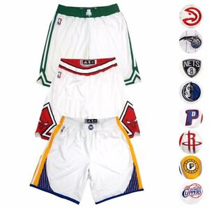 NBA Adidas Authentic On-Court Team Issued Home Pro Cut Game Shorts Men's