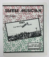 December 1983 Seattle Musician Year In Music Trade Publication Goldy McJohn