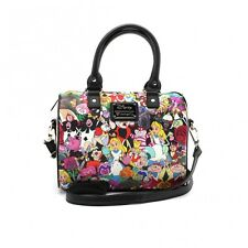 Loungefly Alice In Wonderland Characters Disney Duffle Handbag Purse WDTB0958