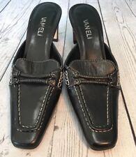 25c53bb7b1230c Vaneli Women Shoes 6 N Black Small Heel Backless Mules Slip Ons Career  Business