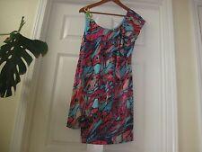 NWT $90.00 Thalia Sodi Acapulco Multi-color Dress Size M   .