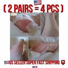 BABY SOFT FOOT PEELING 2 PAIRS 4PCS RENEWAL MASK REMOVE DEAD SkIN FRESH EXP 2022