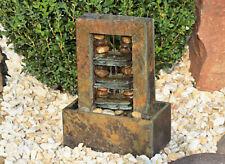 Stanza POZZO FONTANA PARETE ACQUA TAVOLO FONTANA LED cascata Buddha dw05-a
