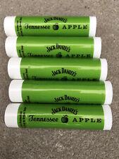 Jack Daniels Apple Spf 15 Lip Balm 5 Pack. Free Ship USA