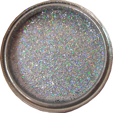 Silver rainbow Sparkle Glitter paint / glaze for bathroom, kitchen feature walls