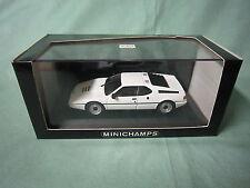 DV4909 MINICHAMPS BMW M1 STREET 1978-81 Ref 430025020 1:43 NB