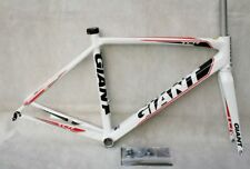 NEW 2012 GIANT TCR ROAD FRAME SET M - 50cm COMPACT ROAD WHITE