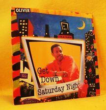Cardsleeve Single CD OLIVER CHEATHAM Get Down Saturday Night 4TR 1999 funk disco