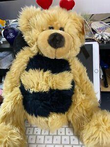 "Russ Breezy 13"" Bumble Bee Bear Plushw/tags"