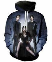 The Vampire Diaries 3D Print Men Women Hoodie weatshirt Jacket Pullover Tops