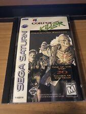 Corpse Killer Complete CIB Graveyard Edition *RARE* Sega Saturn *TESTED*