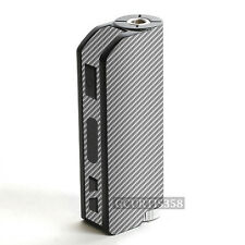 3D SILVER CARBON FIBER Wrap Skin fits iPV Mini 2 Pioneer4you 70W Vapor Vape ECig
