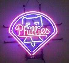 """New Philadelphia Phillies Beer Neon Sign 17""""x14"""""""