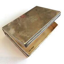 Antique Victorian Solid Silver Sandwich Box By James Dixon & Sons 1894 10cm
