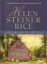 Helen Steiner Rice, A Celebration Of God's Love, Hardback,Gift Book,Keepsake,New