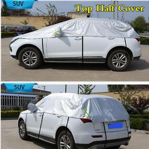 Aluminum Foil Film Material SUV Top Half Cover Dust Waterproof Wind Sun Shield