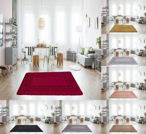 Non Slip Gel Back Rugs Indoor Mats Small & Large Hallway Runner Living Room Rugs