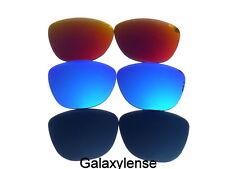 Galaxy Lentes De Repuesto Para Oakley Frogskins Negro, azul y rojo Polarizados