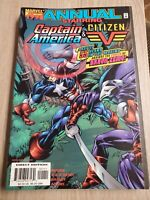 Captain America/Citizen V Annual 1998 Marvel Comic Busiek