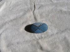 Brosche / Anstecknadel aus Holz, blau