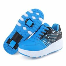 Children Junior Roller Skate Shoes Kids Sneakers With Two Wheels Casual Boys
