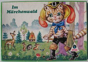 SPIKA 6320 - Im Märchenwald + Spielregeln - VEB Plasticart - DDR Brettspiel