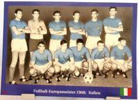 Italien + Fußball Europameister 1968 + Fan Big Card Edition A15 +