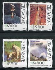 Zimbabwe Zimbabwe 2006 acqua diga Leone IRRIGAZIONE 840-43 post FRESCHI MNH