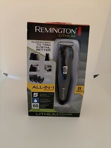 Remington PG6025 All-in-1 Lithium Powered Grooming Kit Beard Trimmer 8 Pieces