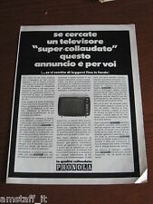 *71=PHONOLA TV TELEVISORE=1971=PUBBLICITA'=ADVERTISING=WERBUNG=PUBLICITE=