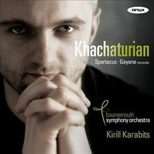 NEW Khachaturian: Spartacus & Gayaneh Excerpts (Audio CD)