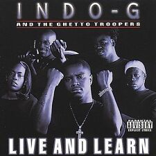 Indo G Live and Learn CD ***NEW***
