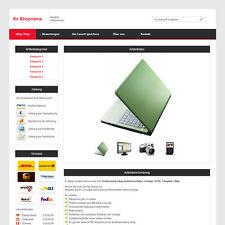 Professional eBay Auktionsvorlage | Vorlage | HTML Template | Rot